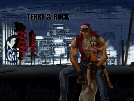 Fatal Fury Terry and Rock