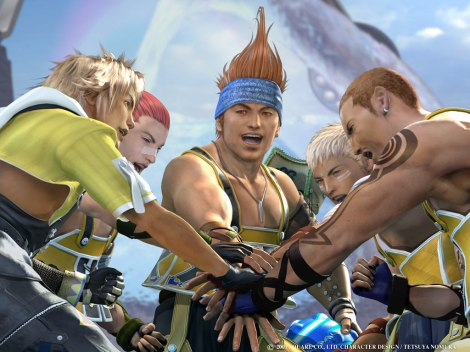 Final Fantasy X Team Blitz
