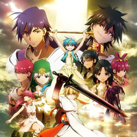 Magi The labyrinth of magic caracters