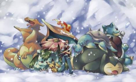 Pokemon snow