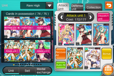 Equipe attaque ou défense_choix des combattante