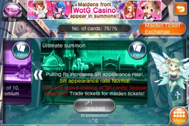 ticket le plus spéciale pour avoir une SR qui est la carte la plus puissante du jeu