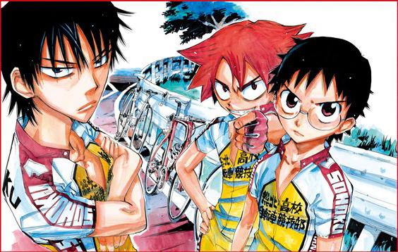Yowamushi-Pedal-illustration