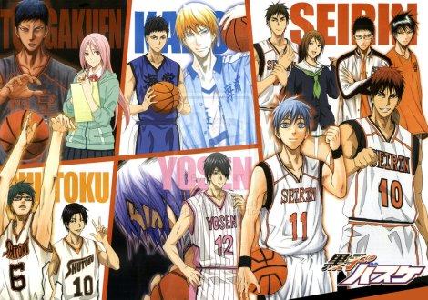 all team kuroko's basket