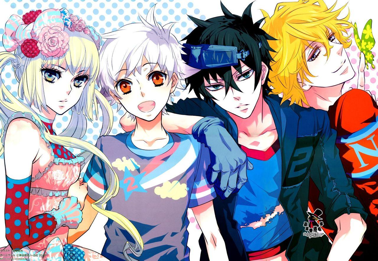 4 Pics 1 Anime Characters : Wallpapers karneval geekettes otakuspace