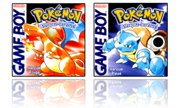 pokemon bleu et rouge