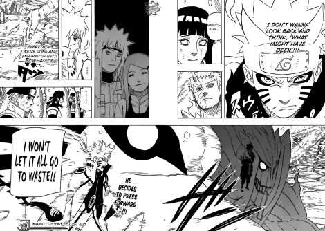 Marvz Anime Blog -  Naruto Shippuden Manga 647 Regrets Naruto decides to press forward