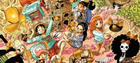 One Piece Manga - Large 709 - 01