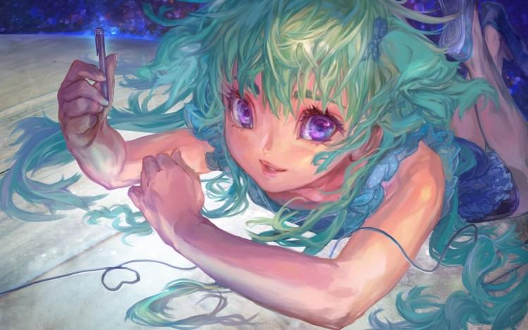 anime-art-glaza-lico-vzglyad